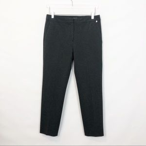 MaxMara Gray Slim Knit Ankle Pant Pegno 10